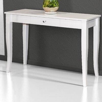 White High Gloss Console Table Wayfair