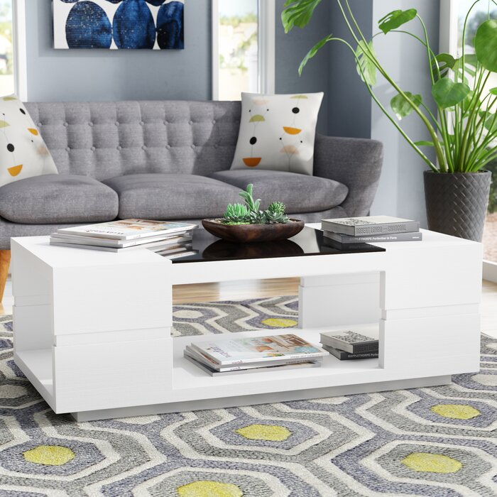 Contemporary Coffee Table.Kennison Contemporary Coffee Table