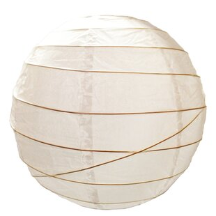 Paper ceiling lamp shades wayfair paper sphere lamp shade mozeypictures Images