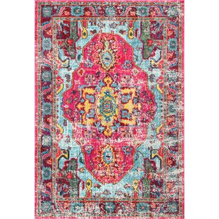 Loughlam Pink Area Rug by Latitude Vive