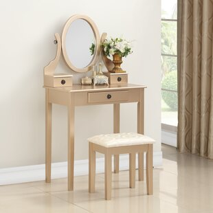 gold makeup vanity table. Save to Idea Board Gold Makeup Vanities You ll Love