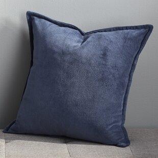 Eduarda Velvet Cotton Throw Pillow Cover