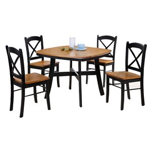 Allis 5 Piece Dining Set by Loon Peak