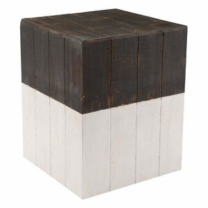 Abbey Wooden Square Garden Stool  sc 1 st  Wayfair & Solid Wood Accent u0026 Garden Stools Youu0027ll Love | Wayfair islam-shia.org