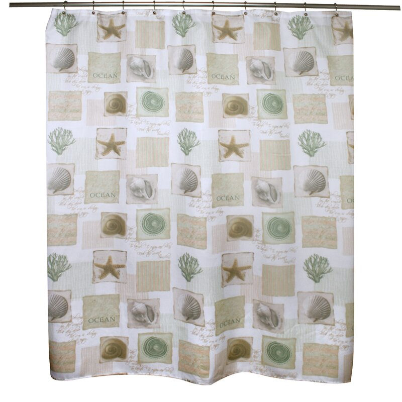 Famous Home Fashions Coastal Shower Curtain