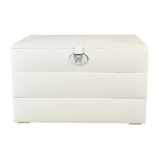 Beau Stackable Leatherette Jewelry Box