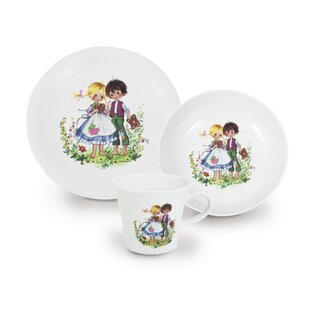 Kids 3-Piece Childrenu0027s Dinnerware Set  sc 1 st  Wayfair & Childrens Plates | Wayfair.co.uk