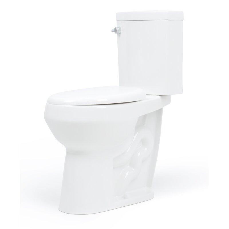 Dual-Flush Elongated Two-Piece Toilet