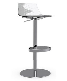 Ice Adjustable Height Swivel Bar Stool