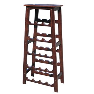 Elegancy 18 Bottle Floor Wine Rack by D-Art Collection