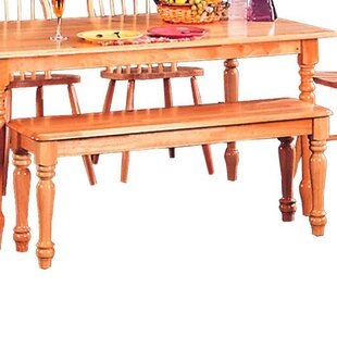 Tanisha Transitional Dining Wood Bench