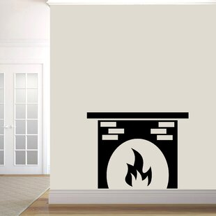 Turley Fireplace Wall Decal
