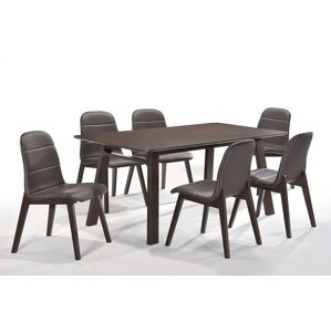 Cafe 7 Piece Dining Set by New Spec Inc