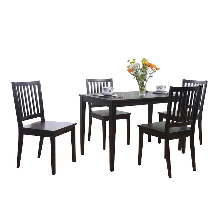 small dining room table sets. Barryknoll 5 Piece Dining Set Kitchen  Room Sets You ll Love