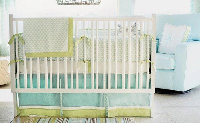 baby crib bedding buying guide wayfair. Black Bedroom Furniture Sets. Home Design Ideas