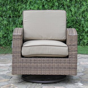 Candour Swivel Rocking Chair With Cushion