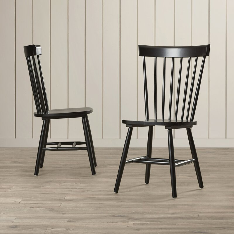Beachcrest home royal palm beach solid wood dining chair