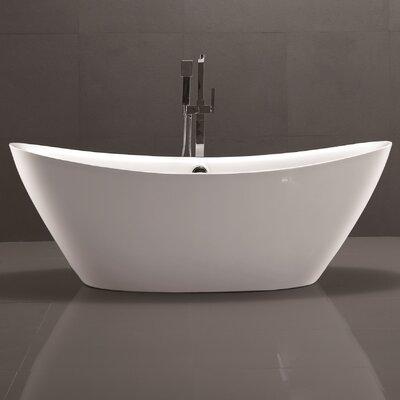 stand alone whirlpool tub. 71  x 34 Freestanding Soaking Bathtub Ariel Bath 37 Whirlpool Reviews Wayfair