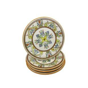 Salvena Stoneware 11  Dinner Plate (Set of 4)  sc 1 st  Wayfair & Teal Dinner Plates | Wayfair