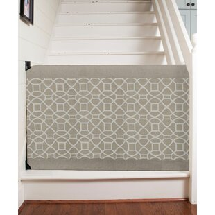 Wall To Banister Safety Gate. By The Stair Barrier