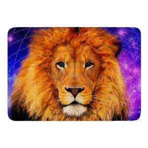 Space Lion by NL Designs Memory Foam Bath Mat