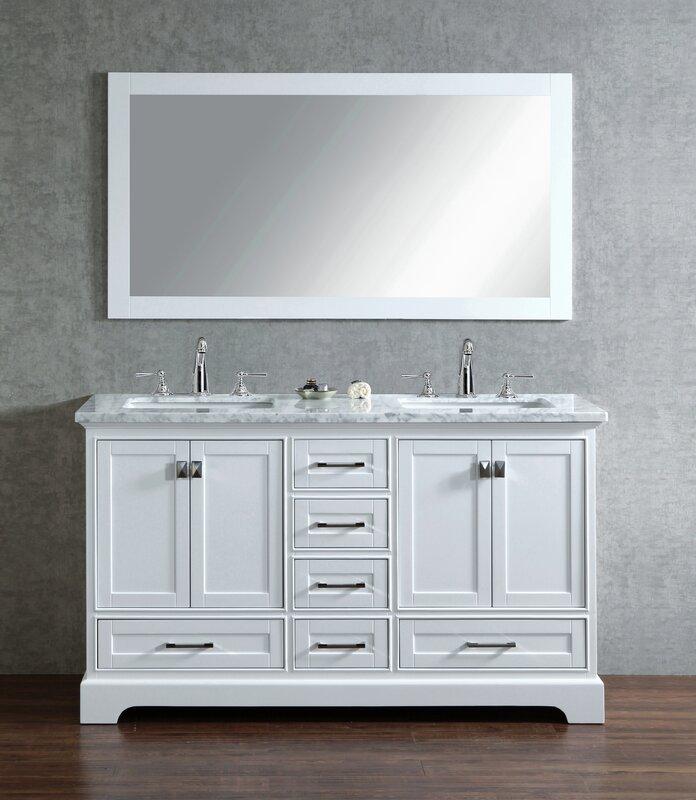 sink for bathroom vanity. Stian Double Sink Bathroom Vanity Set Willa Arlo Interiors  Reviews