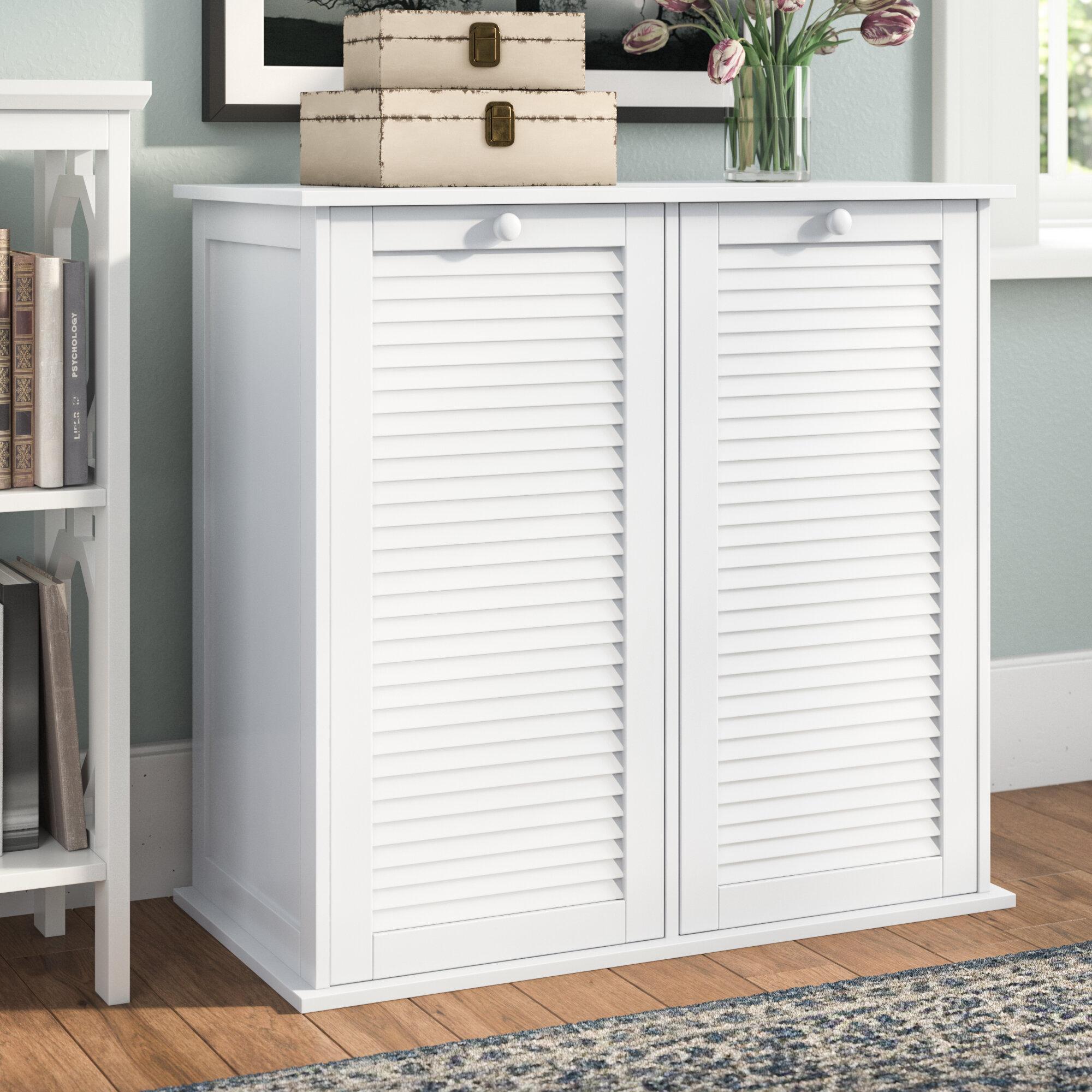 Beachcrest Home Cabinet Laundry Hamper & Reviews | Wayfair