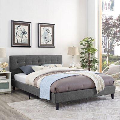 Gray beds you 39 ll love wayfair for Linda platform customizable bedroom set
