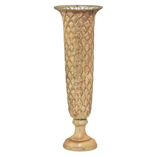 0fc4bd7e2f9 Glass Gold Vases You ll Love