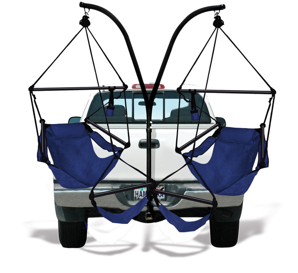 Superbe Hammaka Trailer Hitch Stand Cotton Chair Hammock With Stand U0026 Reviews |  Wayfair