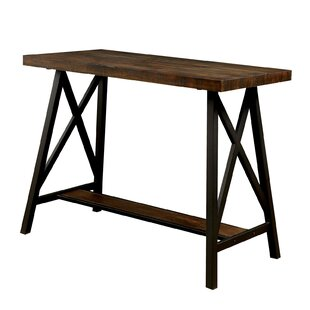 Orofino Wooden Counter Height Dining Table