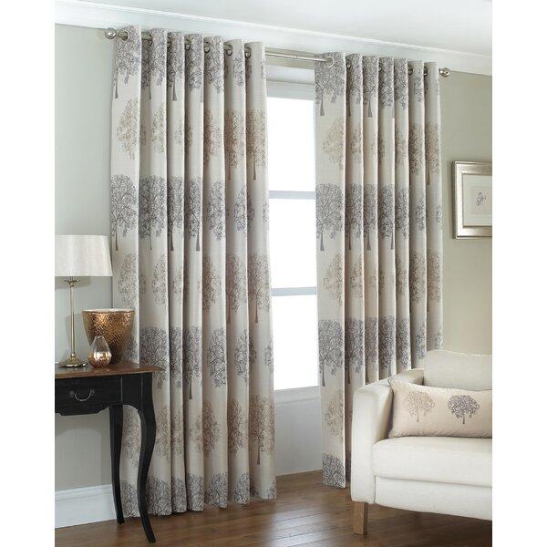 Brambly Cottage Janett Eyelet Room Darkening Curtains