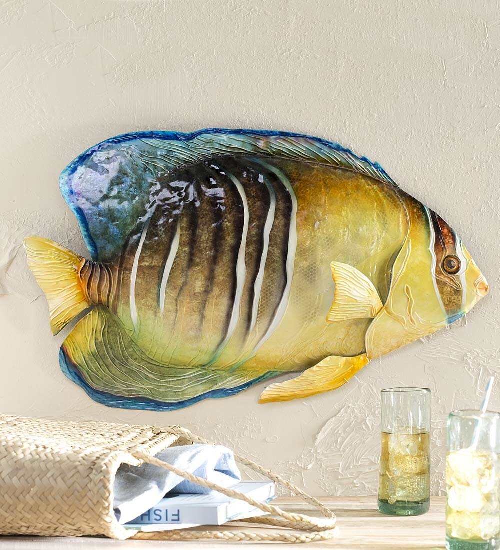 Charming Wooden Fish Wall Art Pictures Inspiration - The Wall Art ...
