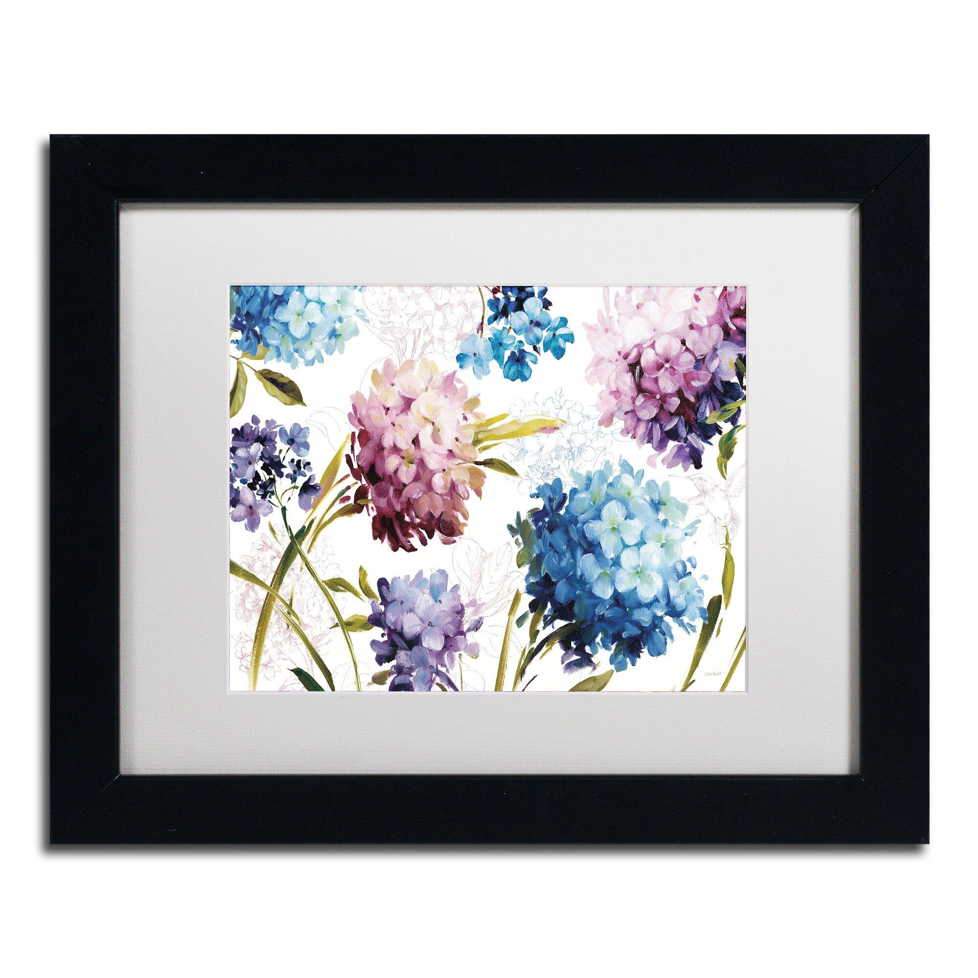 Trademark Art Spring Nectar I Laurie By Lisa Audit Framed Painting Print On Canvas Wayfair