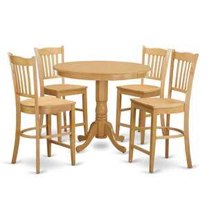 Trenton 5 Piece Counter Height Pub Table ..