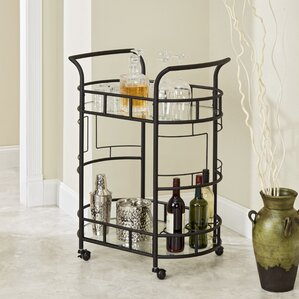 Boswell 2-Tier Bar Cart by Red Barrel ..