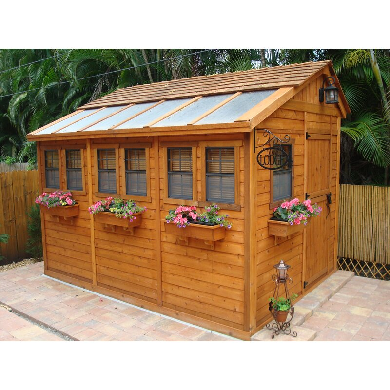 Outdoor Living Today Sunshed 9 ft. W x 12 ft. D Solid Wood ... on Outdoor Living Today Sunshed id=11503