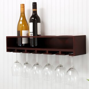 Claret 4 Bottle Wall Mounted Wine Rack Looking for