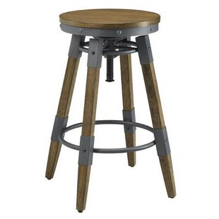 Melvin Adjustable Height Bar Stool (Set of 2)