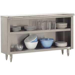 Economy Flat Top Dish Cabinet by Advan..