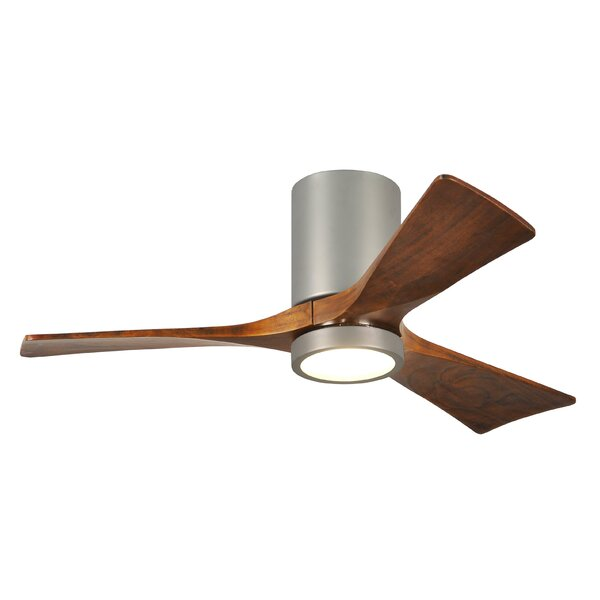Wade Logan 42 Trost 3 Blade Hugger Ceiling Fan With Wall Remote And Light Kit Reviews Wayfair