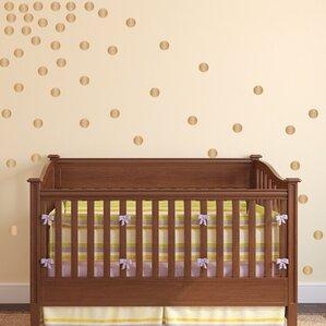 Gold Dot Wall Decal Wayfair - Wall decals gold dots
