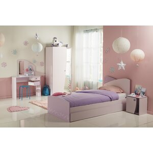 Denault Twin Platform Configurable Bedroom Set