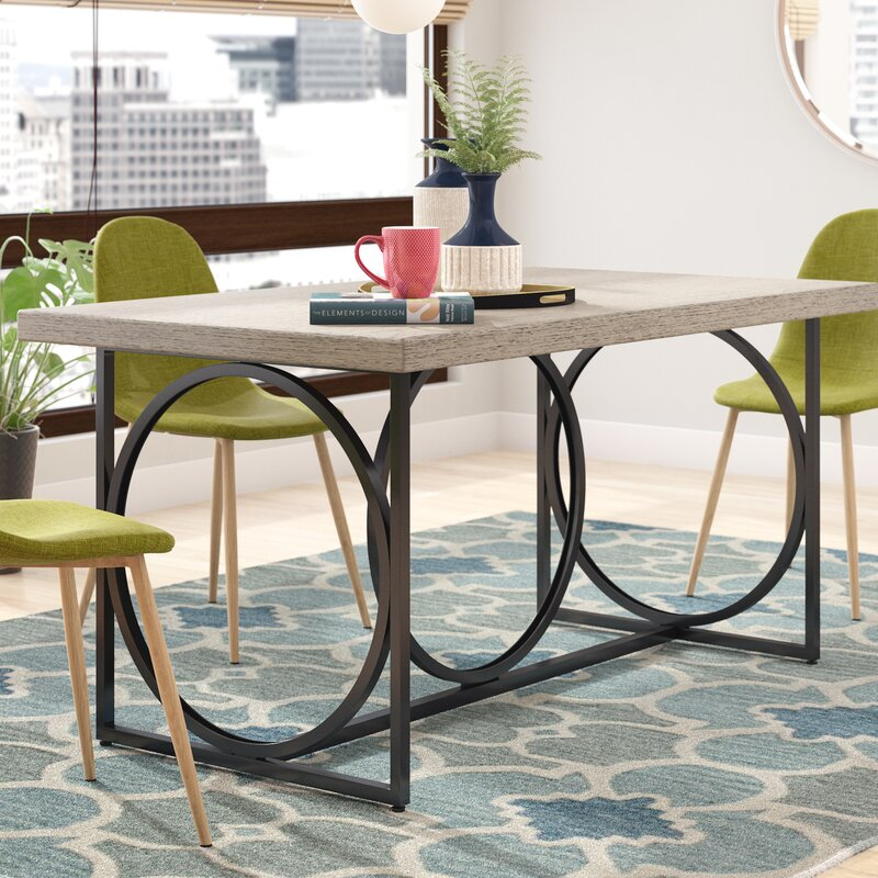 Langley Street Andreas Dining Table Reviews Wayfair
