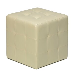 Delinda Cube Ottoman by Red Barrel Studio