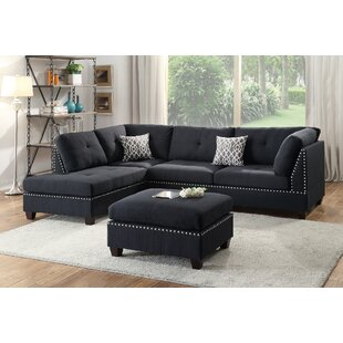 Superieur Raelyn Reversible Sectional With Ottoman