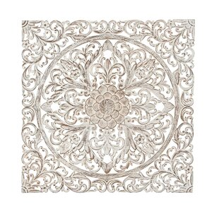 Traditional Carved Floral Medallion Wall Decor  sc 1 st  Wayfair & Wood Medallion Wall Decor | Wayfair