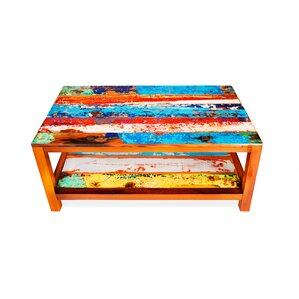 Windjammer Reclaimed Wood Coffee Table by Ec..