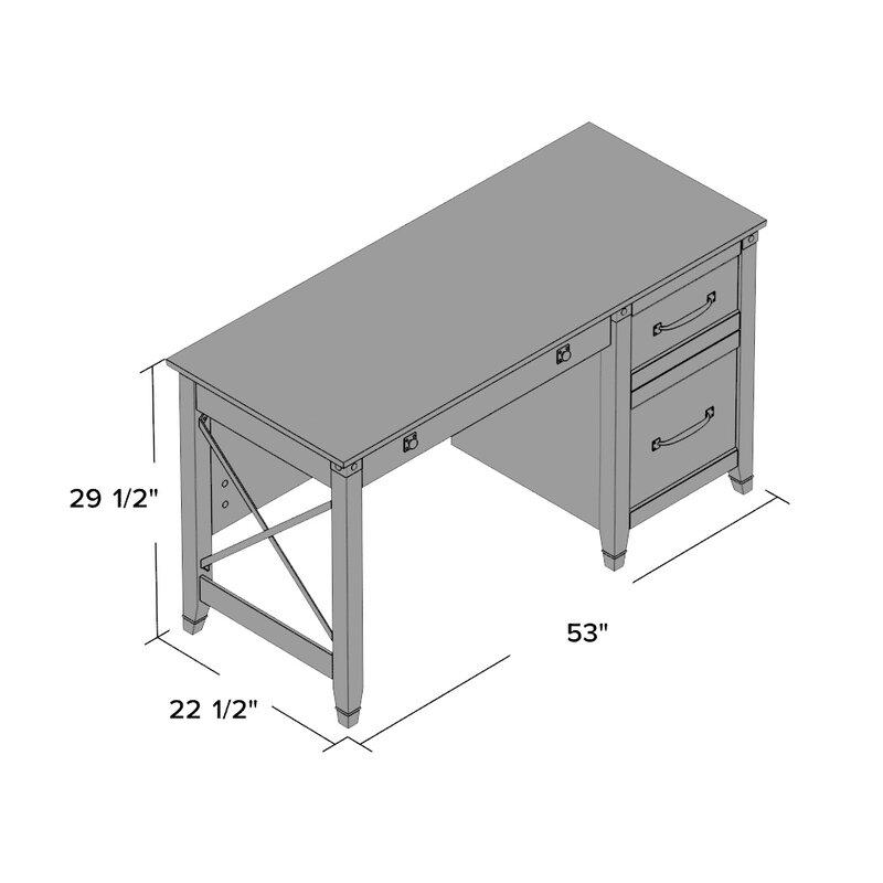 Loon Peak Newdale Computer Desk Amp Reviews Wayfair