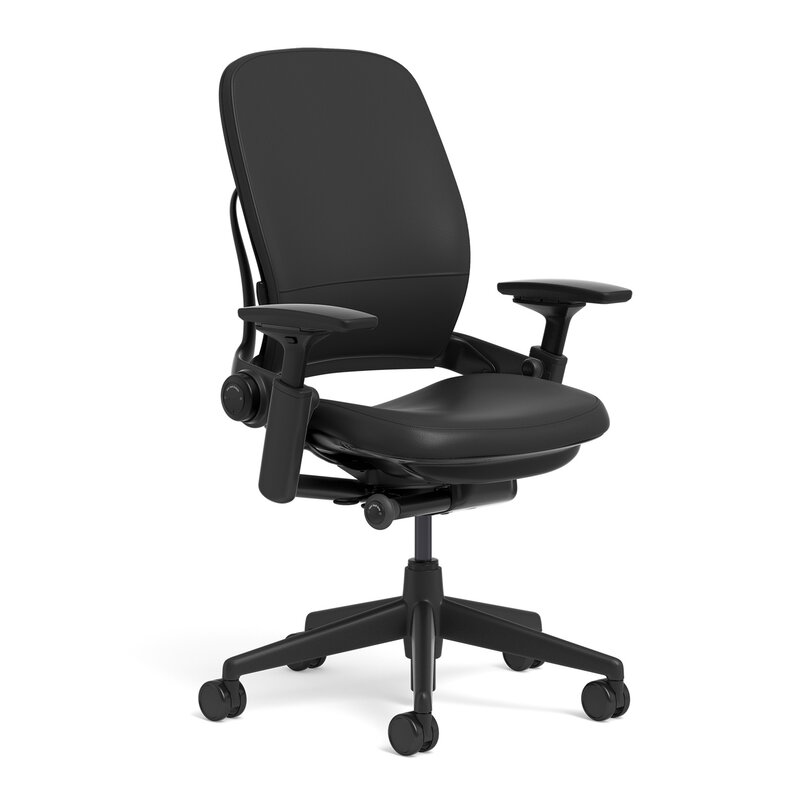 Steelcase Leap® Leather High-Back Desk Chair & Reviews | Wayfair